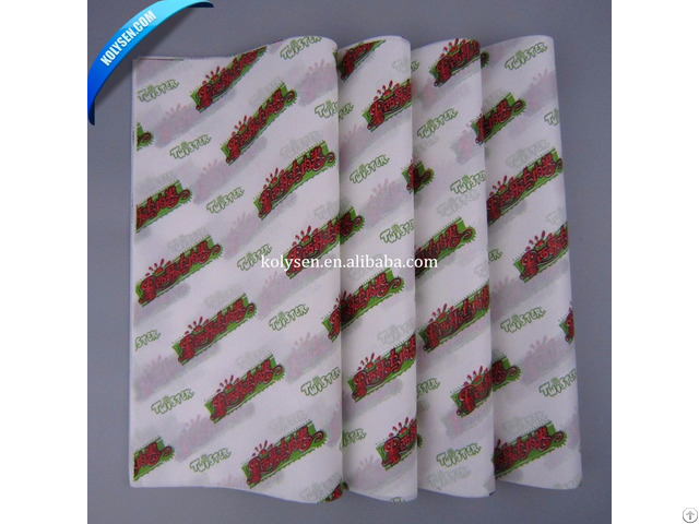 Burritos Wrapping Grease Proof Paper