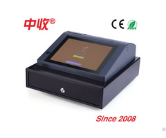 Compact Touch Screen Cash Register All In One Pos Ts970