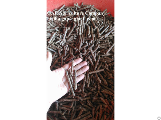 Rubber Acacia Wood Pellets 6mm Vietnam Fsc Coc Certificate For Boiler Power Plant
