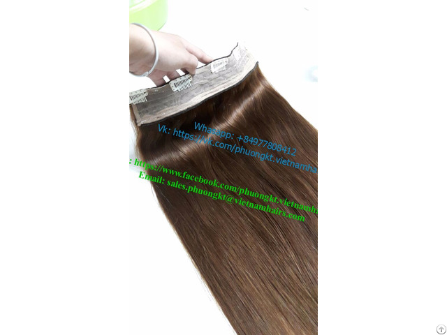 Vietnamese Super Thin Clip In Hair Extensions 55cm