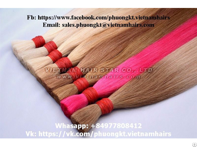 Nice Color Vietnamese Hair Like Supplies Customers 20 80cm