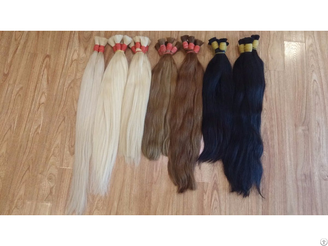 Vietnamese Color Straight Hair Very Thick Full Cuticle 8