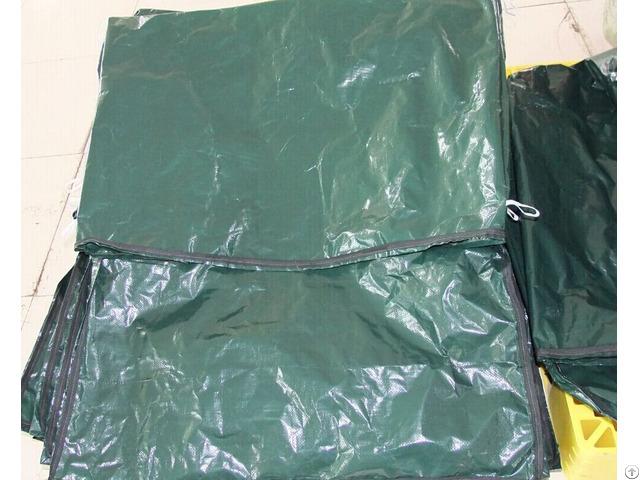 The Poly Tarp Drawstring Bags