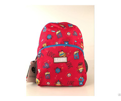 Shenzhen Factory Wholesale High Quality Cute Kids Shool Bag For Little Boys And Girls