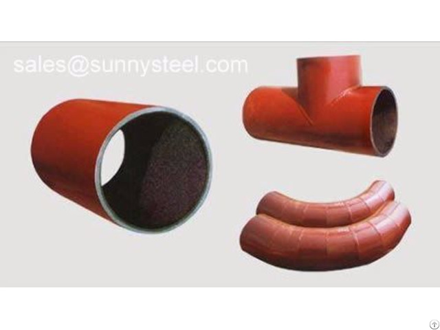 Ceramic Lined Pipes And Pipe Components