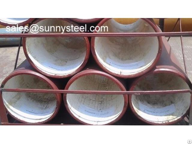 Ceramic Tile Lined Steel Pipe