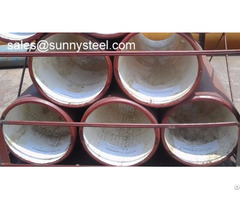 Ceramic Tile Lined Steel Pipe
