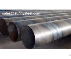 Spiral Submerged Arc Welding Pipes