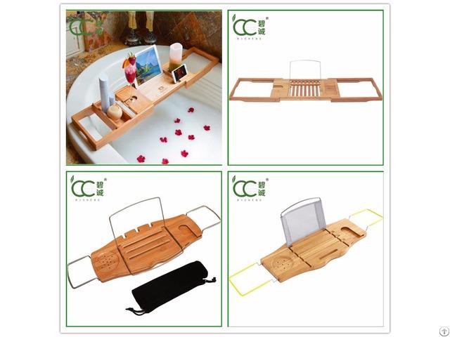 Bamboo Bath Caddy Tray
