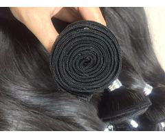 Machine Weft Natural Human Hair Wholesale Price