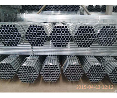 Q195 Cr Welded Gi Pipe Price In China Dongpengboda