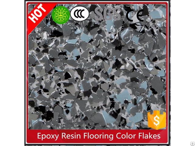 Epoxy Resin Color Flakes For Garage Flooring Granite Imitation Paint Mesiden