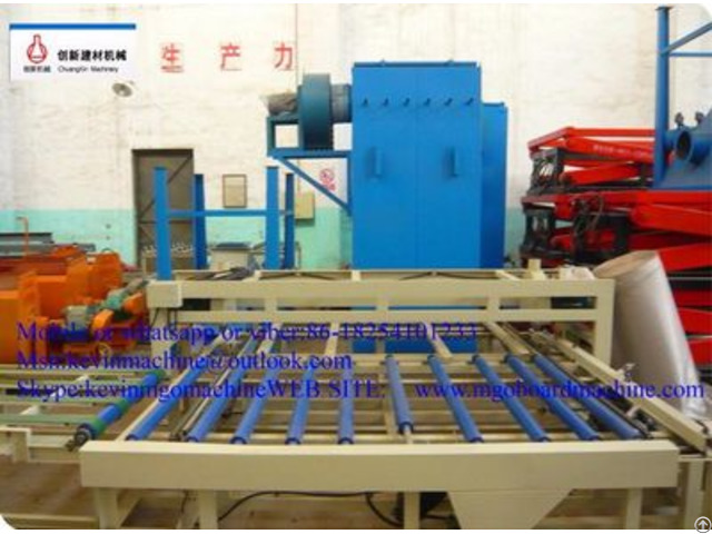 Decorative Fireproof Construction Materials Equipment For Building Mould Board Productio Line