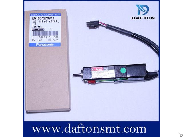 Machine Parts Panasonic Cm402 Servo Motor N510042738aa P50b02002bxs7c