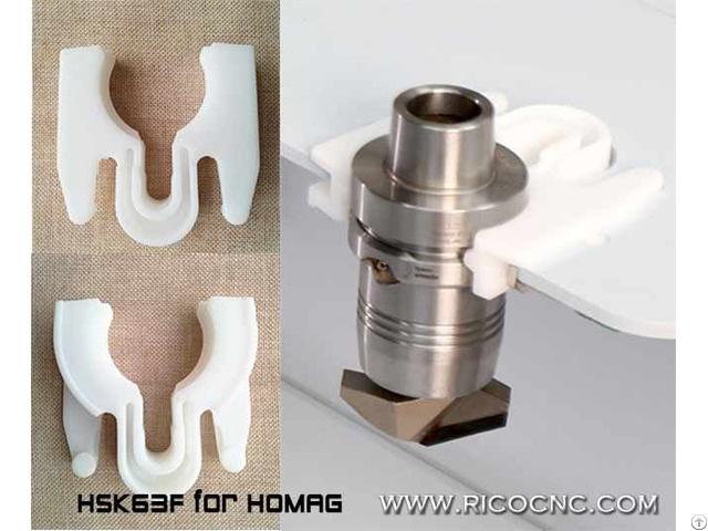 Hsk63f Cnc Router Fork Homag Toolchanger Grippper