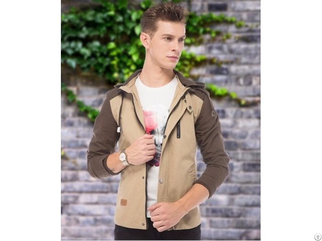 High Quality Mens Quilted Jacket Hood