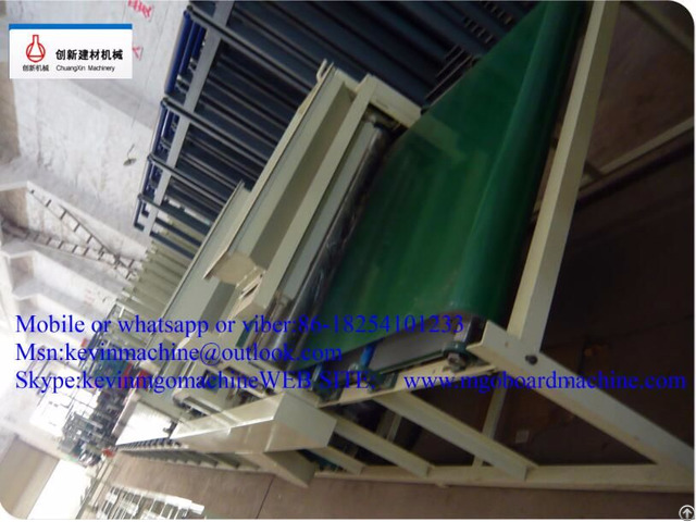 Steel Structure Mgo Board Production Line Indoor Wall Decorating