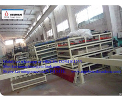 Magnesium Oxide Pu Sandwich Wall Panel Making Machine