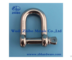 Stainless Steel Casted D Twist Shackle