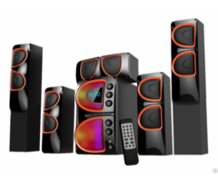 High Quality 5 1 Home Theater Multimedia Speaker System