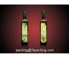 Extra Virgin Olive Oil Glass Bottle Labels
