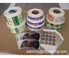 Gravure Printing Labels For Mass Production