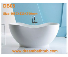 Freestanding Solid Surface Bathtub