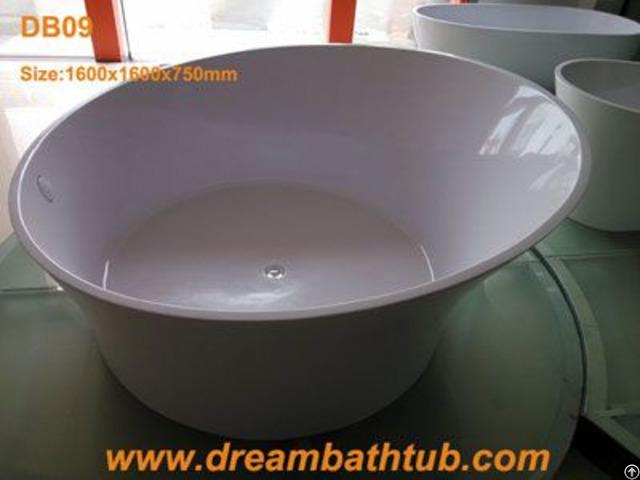 Freestanding Resin Bathtub