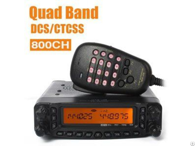 Quad Band Mobile Fm Transceiver 1tc 8900r