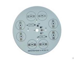 Round Aluminum Led Pcb