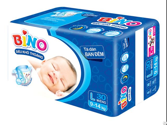 Sell Premium Baby Diaper Sleepy Bino Brand From Ky Vy Corporation Vietnam