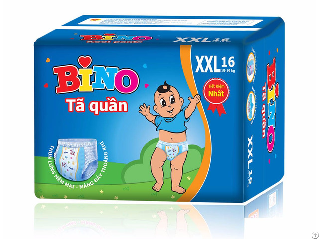 Baby Diaper Big Size Kool Pants From Ky Vy Corporation Vietnam