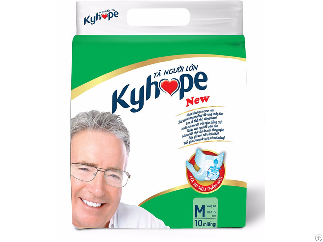Diaper For Elder Kyhope New Brand From Ky Vy Corporation