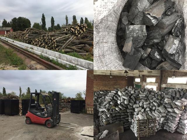 Hardwood Charcoal From Ukraine