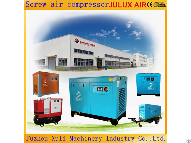 Hot Selling 7 5kw 200kw 10hp 270hp Rotary Screw Air Compressor