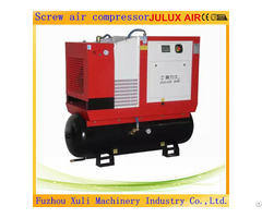Julux 7 5kw 10hp Screw Air Compressor Combined With Tank And Dryer