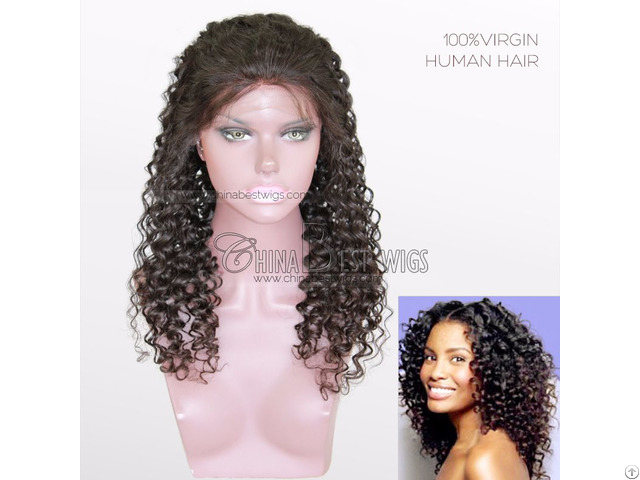 Virgin Hair Lace Front Wig
