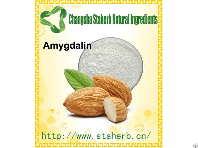 98% Amygdalin Vitamin B17 Bitter Almond Extract Cas No 29883 15 6