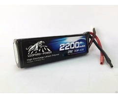 Leopard Power 2200 25c 3s Lipo Battery For Rc Heli Model