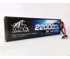 Leopard Power 22000 15c 6s Lipo Battery For Rc Heli Model