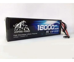 Leopard Power 16000 15c 6s Lipo Battery For Rc Heli,model,uav