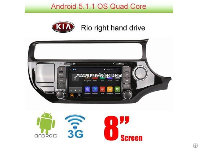 Kia Rio K3 2015 Wince Car Camera Dvd Player Gps Radio Stereo Video Swc