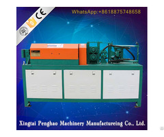 Steel Wire Straightening And Cutting Machine