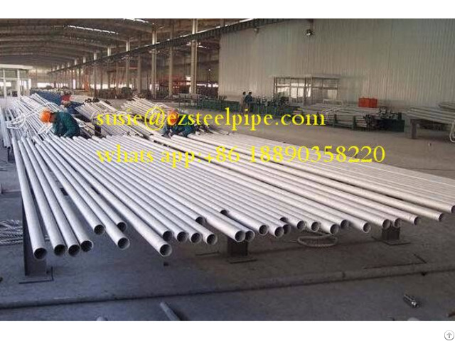 Customized Duplex Stainless Steel Seamless Pipe 304 316