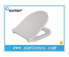 Saleable Slim Soft Close D Shape Toilet Seat