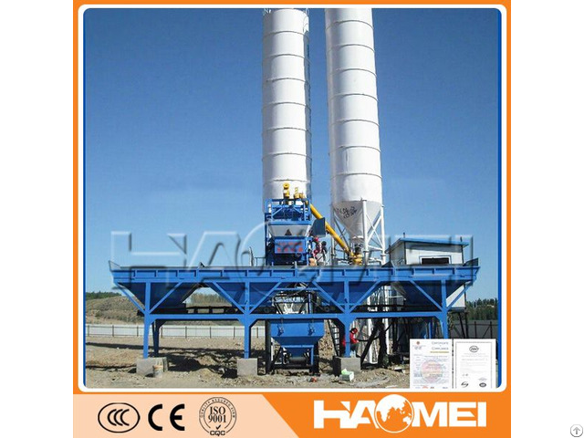 China Factory Sale Best Price Hzs25 Small Concrete Batching Plant