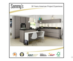 Modern Germany Pvc Membrane Kitchen Cabinets With Free Design Customized