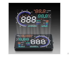 A8 5 5inch  Car Hud Head Up Display