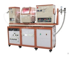 Pe Cvd Plasma Enhanced Chemical Vapor Deposition Double Tube Furnace