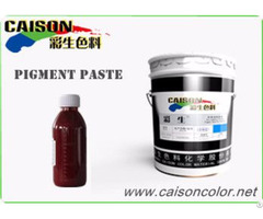 Cth 1170 Orange Red Pigment Paste